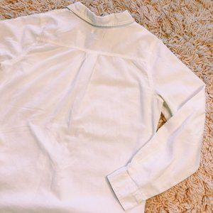 Old Navy Tops - Old Navy Long Sleeve White Button Up Shirt